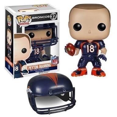 f033b8e9d Funko Pop Nfl Futebol Americano Peyton Manning Broncos Raro - R ...