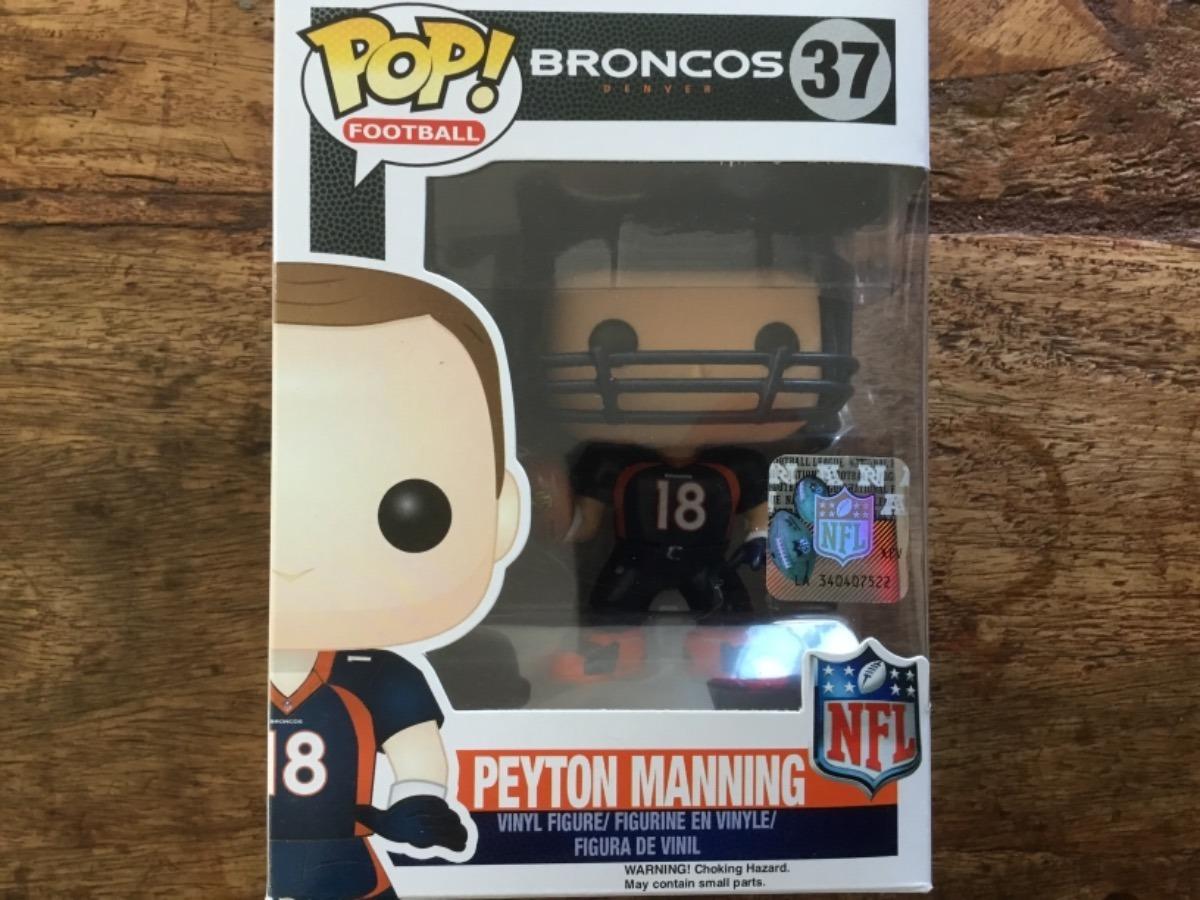 063e2ec05 funko pop nfl futebol americano peyton manning broncos raro. Carregando  zoom.