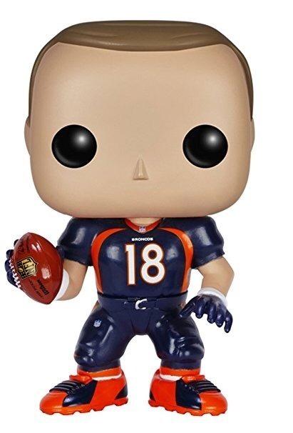 1c3894572 Funko Pop Nfl Futebol Americano Peyton Manning Broncos Raro - R  249 ...