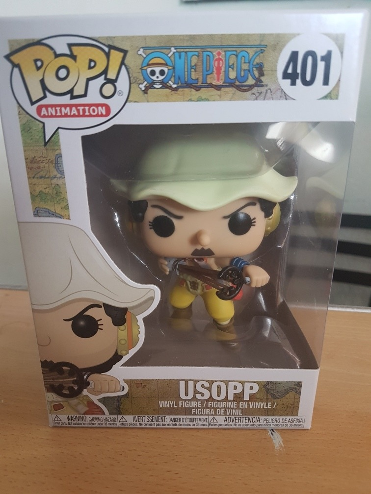 358883310e5 Funko Pop One Piece Usopp -   400.00 en Mercado Libre