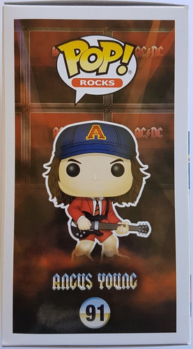 funko pop! original angus young #91 fye exclusive