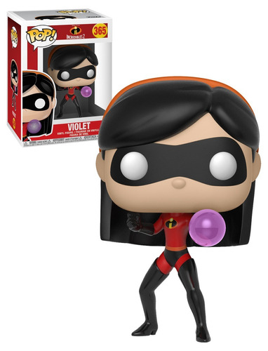 funko pop! - os incredibles 2 - violet boneco novo original