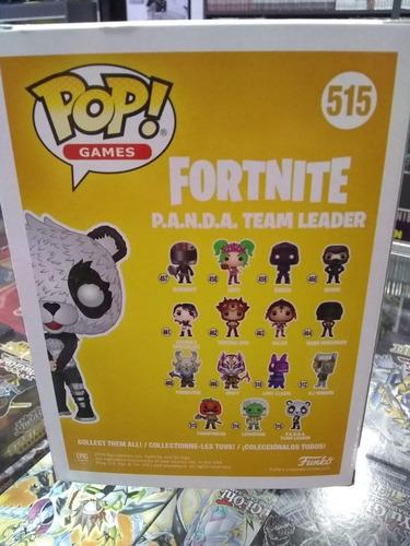 funko pop! p.a.n.d.a. team leader #515
