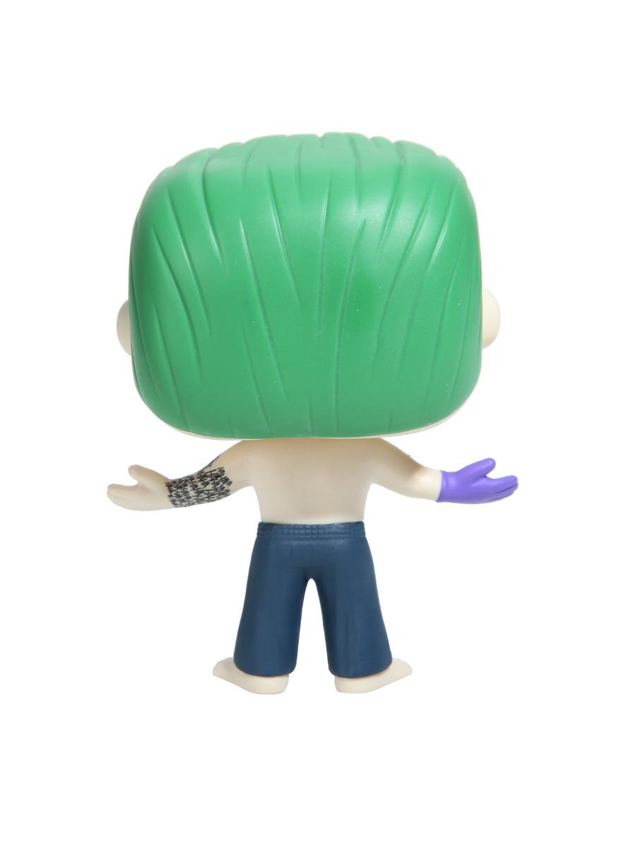 Joker sin Camisa Pop Vinilo figura Escuadrón de suicidio oficial Funko Perfecto Estado