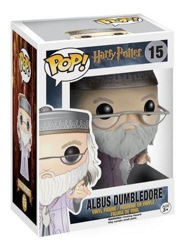 funko pop! películas: harry potter dumbledore con varita