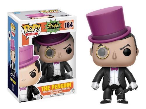 funko pop - penguin - batman - dc comics colecionavel