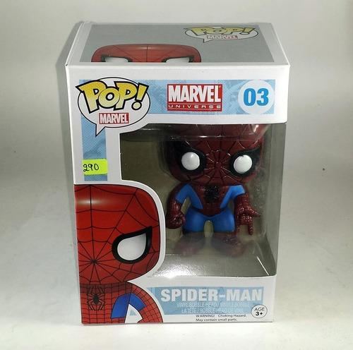funko pop peter parker spiderman homecoming marvel 100% orig