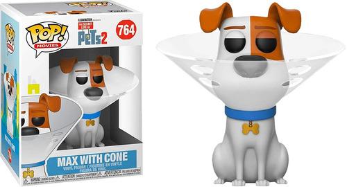 funko pop! pets 2 max with cone 764 original