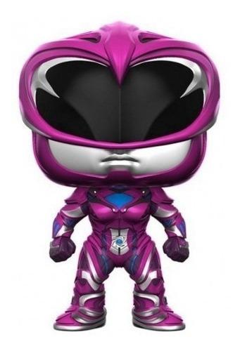 funko pop pink ranger power ranger coleccion muñeco original