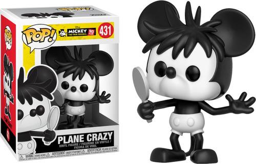 funko pop plane crazy mickey (431) mickey original to disney