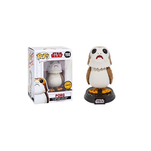 funko pop porg 198 chase edition - star wars - original