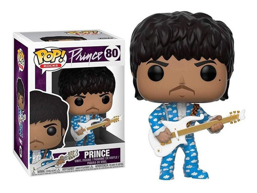 funko pop! prince 80 - prince muñeco coleccionable original