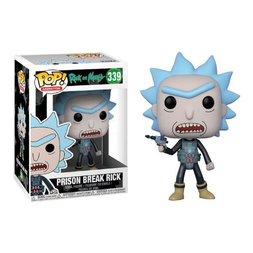 funko pop prison escape rick 339 rick and morty baloo toys