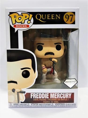 funko pop queen - freddie mercury diamond collection #97