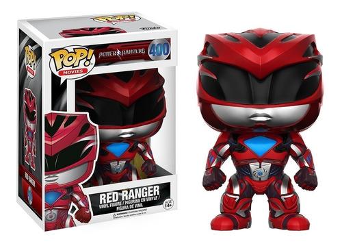 funko pop red ranger power rangers coleccion muñeco original