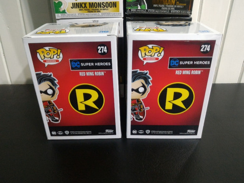 funko pop - red wing robin #274 (exclusivo hot topic)