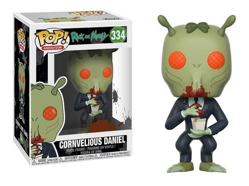 funko pop - rick and morty - cornvelious daniel (334)