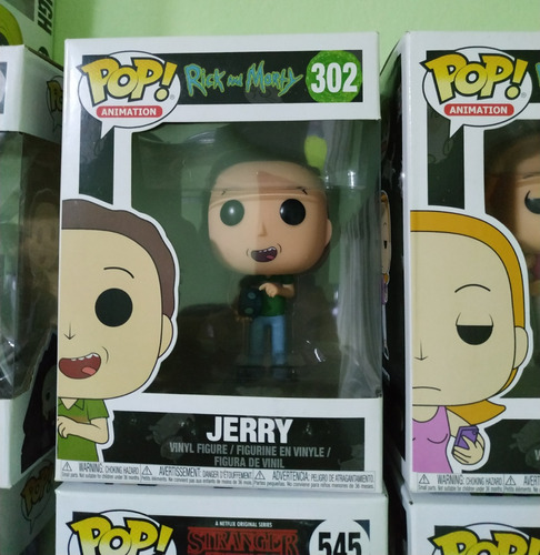 funko pop! - rick and morty - jerry #302