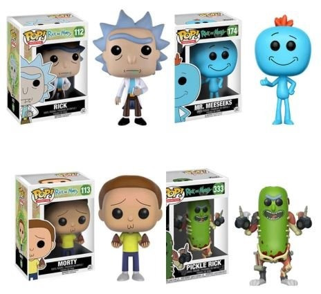 funko pop! rick and morty morty #113