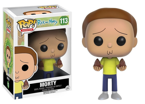 funko pop rick and morty morty 113 nuevo original stock