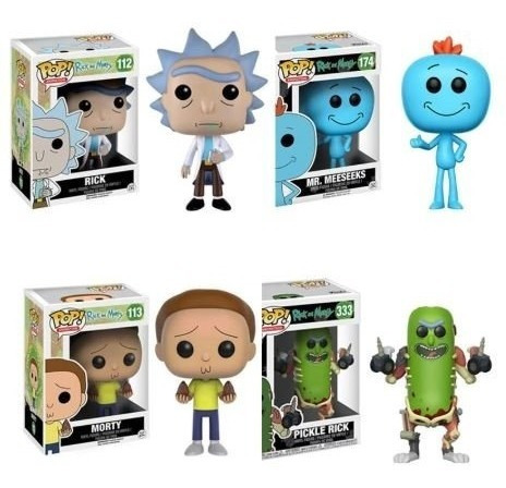 funko pop! rick and morty mr. meeseeks #134