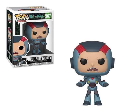 funko pop! rick and morty - purge suit morty 567 original
