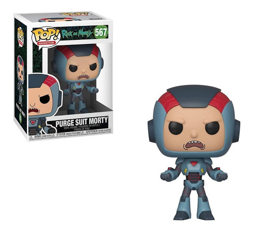 funko pop rick and morty purge suit morty