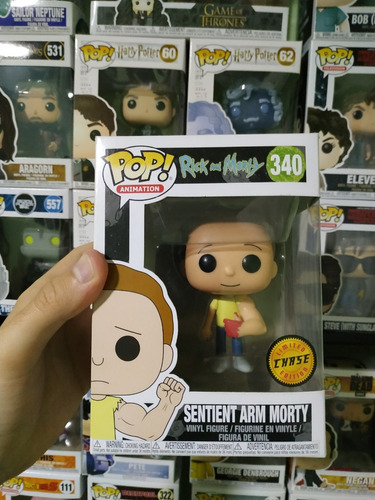 funko pop! - rick and morty - sentient arm morty #340 chase