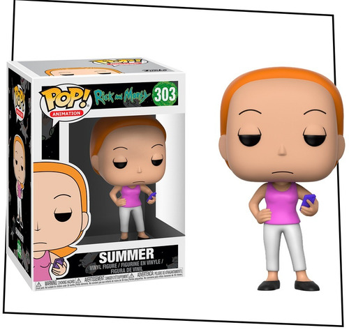 funko pop! - rick and morty - summer #303