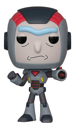 funko pop rick purge suit #566 rick and morty jugueterialeon