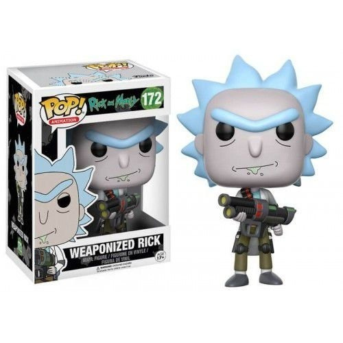 funko pop rick weaponized (rick and morty) 172