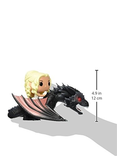 funko pop rides game of thrones: dragon & daenerys
