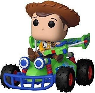 funko pop! rides: toy story  woody con rc
