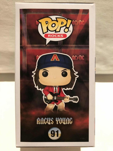 funko pop rock angus young ac/dc numero 91