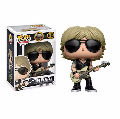 funko pop rocks axl rose + slash + duff gun's roses