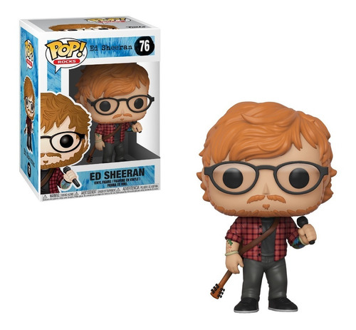 funko pop rocks ed sheeran