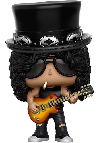 funko pop! rocks: guns n' roses - slash - nuevo