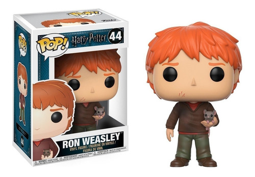 funko pop ron weasley scabbers harry potter muñeco original