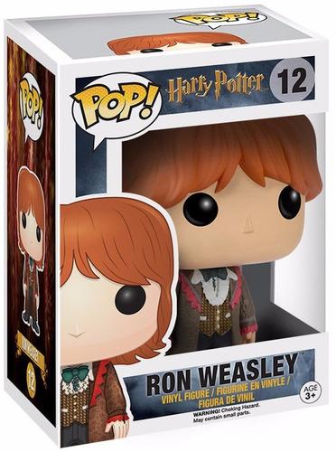 funko pop ron weasley traje gala  #12 harry potter original