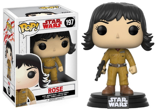 funko pop rose 197 star wars muñeco original