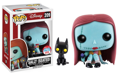 funko pop sally seated the nightmare before nycc16 en mano