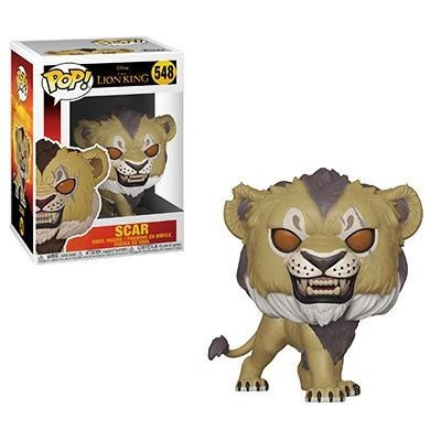 funko pop scar 548 the lion king  nuevo