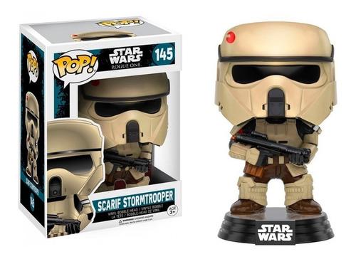 funko pop scarrif stormtrooper, star wars