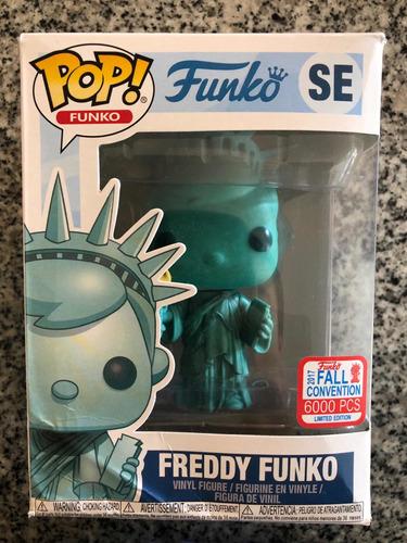 funko pop se freddy funko estatua de la libertad
