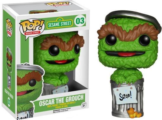 Funko Pop - Sesame Street - Oscar The Grouch - 04910