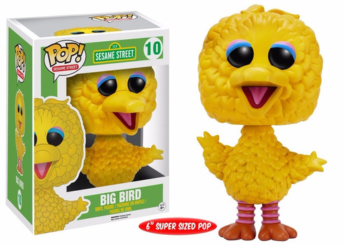funko pop sesame street (plaza sesamo) - big bird