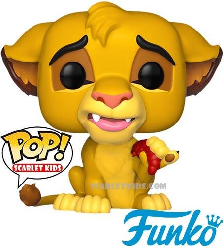 funko pop! simba 496 original disney el rey leon scarletkids