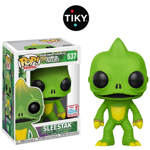 funko pop sleestak land of the lost nycc comic con fall