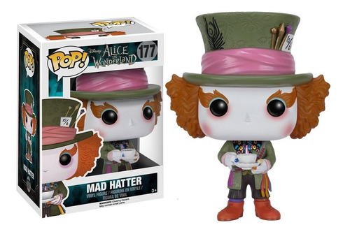 funko pop sombrerero loco alice in wonderland mad hatter 177