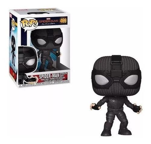 funko pop! spider-man negro 469 - candos jugueteria